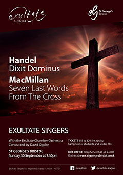 Handel and MacMillan poster